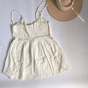 Surf Gypsy Dresses - Embroidered Pattern Surf Gypsy Dress Sz S